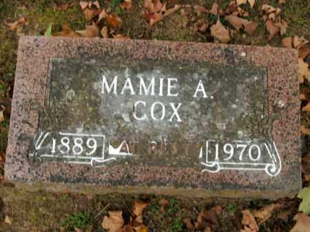 COX, MAMIE A. - Boone County, Arkansas | MAMIE A. COX - Arkansas Gravestone Photos