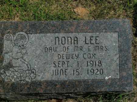 COX, NONA LEE - Boone County, Arkansas | NONA LEE COX - Arkansas Gravestone Photos