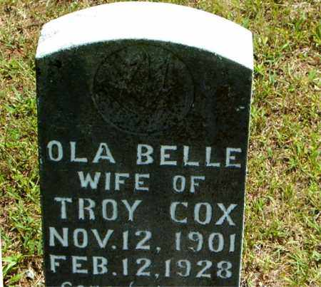 COX, OLA BELLE - Boone County, Arkansas | OLA BELLE COX - Arkansas Gravestone Photos