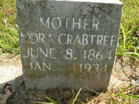 CRABTREE, NORA - Boone County, Arkansas | NORA CRABTREE - Arkansas Gravestone Photos