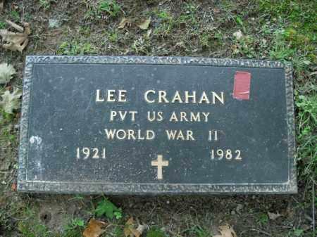 CRAHAN  (VETERAN WWII), LEE - Boone County, Arkansas | LEE CRAHAN  (VETERAN WWII) - Arkansas Gravestone Photos