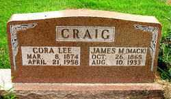 CRAIG, JAMES M. - Boone County, Arkansas | JAMES M. CRAIG - Arkansas Gravestone Photos