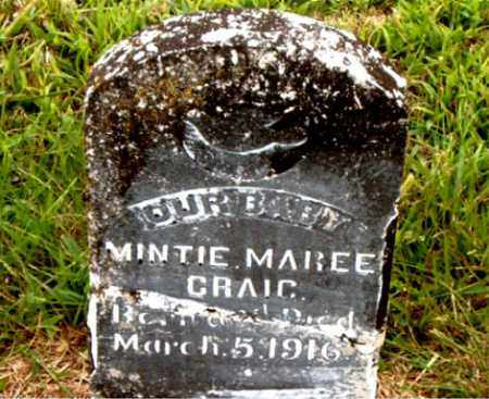 CRAIG, MINTIE MAREE - Boone County, Arkansas | MINTIE MAREE CRAIG - Arkansas Gravestone Photos