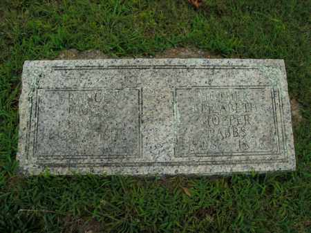 HOPPER DABBS, ELIZABETH - Boone County, Arkansas | ELIZABETH HOPPER DABBS - Arkansas Gravestone Photos