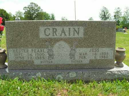 CRAIN, JESS - Boone County, Arkansas | JESS CRAIN - Arkansas Gravestone Photos