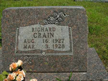 CRAIN, RICHARD - Boone County, Arkansas | RICHARD CRAIN - Arkansas Gravestone Photos