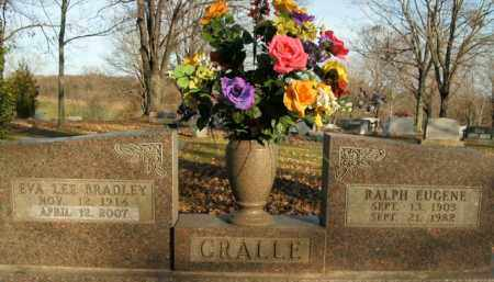 BRADLEY CRALLE, EVA LEE - Boone County, Arkansas | EVA LEE BRADLEY CRALLE - Arkansas Gravestone Photos