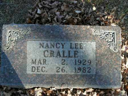 CRALLE, NANCY LEE - Boone County, Arkansas | NANCY LEE CRALLE - Arkansas Gravestone Photos