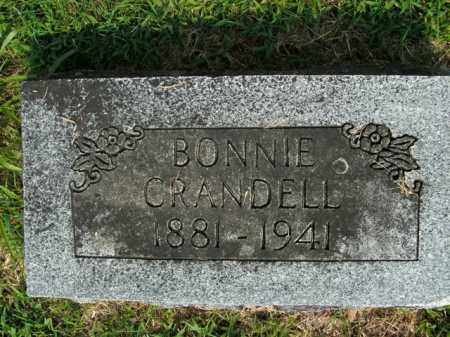 CRANDELL, BONNIE - Boone County, Arkansas | BONNIE CRANDELL - Arkansas Gravestone Photos