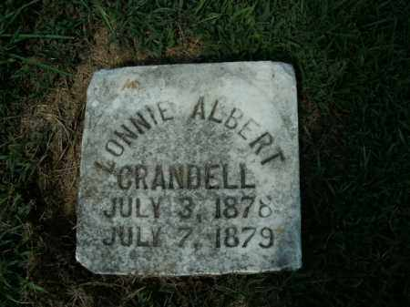 CRANDELL, LONNIE ALBERT - Boone County, Arkansas | LONNIE ALBERT CRANDELL - Arkansas Gravestone Photos