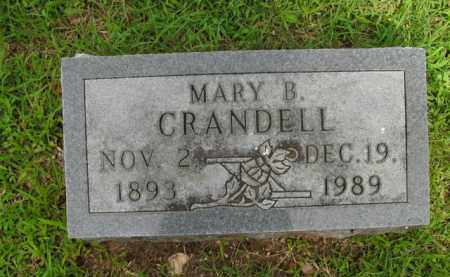 CRANDELL, MARY B. - Boone County, Arkansas | MARY B. CRANDELL - Arkansas Gravestone Photos
