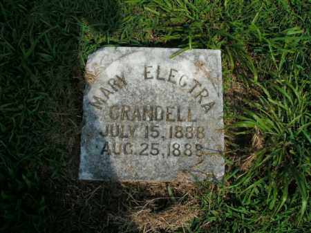 CRANDELL, MARY ELECTRA - Boone County, Arkansas | MARY ELECTRA CRANDELL - Arkansas Gravestone Photos