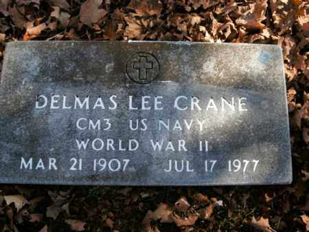 CRANE  (VETERAN WWII), DELMAS LEE - Boone County, Arkansas | DELMAS LEE CRANE  (VETERAN WWII) - Arkansas Gravestone Photos
