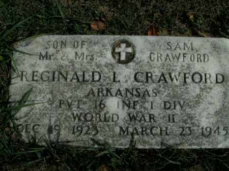 CRAWFORD  (VETERAN WWII), REGINALD L - Boone County, Arkansas | REGINALD L CRAWFORD  (VETERAN WWII) - Arkansas Gravestone Photos