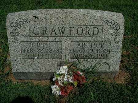 CRAWFORD, ARTHUR - Boone County, Arkansas | ARTHUR CRAWFORD - Arkansas Gravestone Photos
