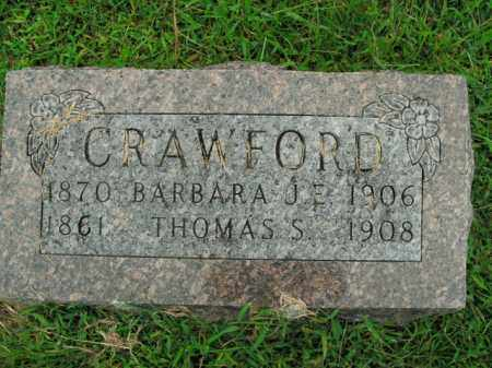 CRAWFORD, BARBARA J.E. - Boone County, Arkansas | BARBARA J.E. CRAWFORD - Arkansas Gravestone Photos
