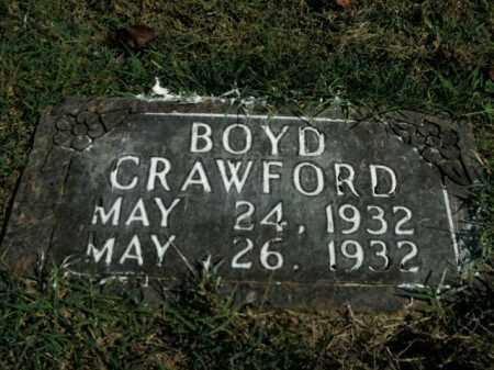 CRAWFORD, BOYD - Boone County, Arkansas | BOYD CRAWFORD - Arkansas Gravestone Photos
