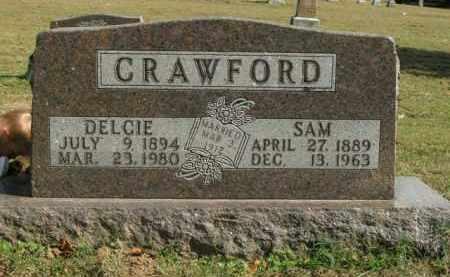 CRAWFORD, DELCIE - Boone County, Arkansas | DELCIE CRAWFORD - Arkansas Gravestone Photos