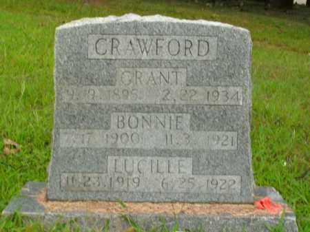 CRAWFORD, LUCILLE - Boone County, Arkansas | LUCILLE CRAWFORD - Arkansas Gravestone Photos