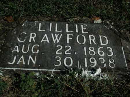 CRAWFORD, LILLIE - Boone County, Arkansas | LILLIE CRAWFORD - Arkansas Gravestone Photos