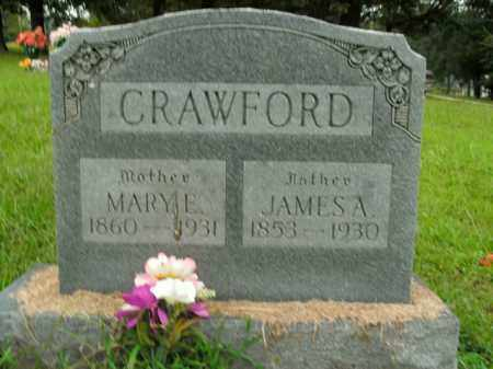 CRAWFORD, JAMES A. - Boone County, Arkansas | JAMES A. CRAWFORD - Arkansas Gravestone Photos