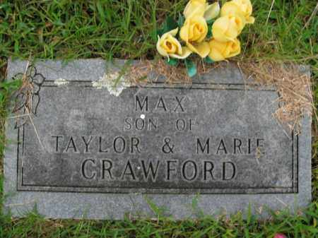 CRAWFORD, MAX - Boone County, Arkansas | MAX CRAWFORD - Arkansas Gravestone Photos