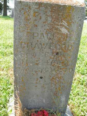 CRAWFORD, PAUL - Boone County, Arkansas | PAUL CRAWFORD - Arkansas Gravestone Photos