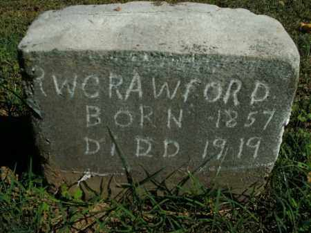 CRAWFORD, R.W. - Boone County, Arkansas | R.W. CRAWFORD - Arkansas Gravestone Photos