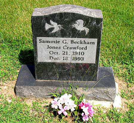CRAWFORD, SAMMIE G. - Boone County, Arkansas | SAMMIE G. CRAWFORD - Arkansas Gravestone Photos