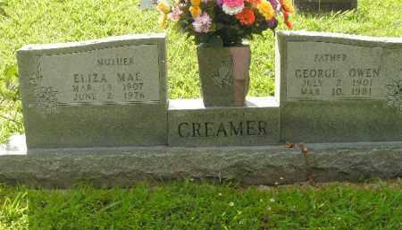 CREAMER, ELIZA MAE - Boone County, Arkansas | ELIZA MAE CREAMER - Arkansas Gravestone Photos