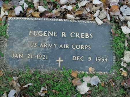 CREBS  (VETERAN), EUGENE R - Boone County, Arkansas | EUGENE R CREBS  (VETERAN) - Arkansas Gravestone Photos