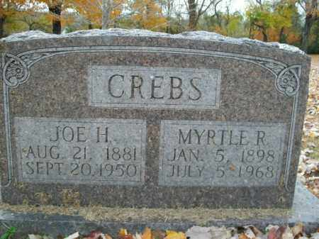 CREBS, JOE H. - Boone County, Arkansas | JOE H. CREBS - Arkansas Gravestone Photos