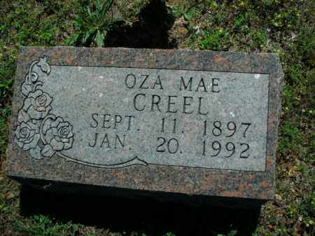 CREEL, OZA MAE - Boone County, Arkansas | OZA MAE CREEL - Arkansas Gravestone Photos