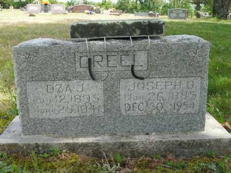 CREEL, OZA J. - Boone County, Arkansas | OZA J. CREEL - Arkansas Gravestone Photos