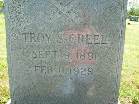 CREEL, TROY S. - Boone County, Arkansas | TROY S. CREEL - Arkansas Gravestone Photos