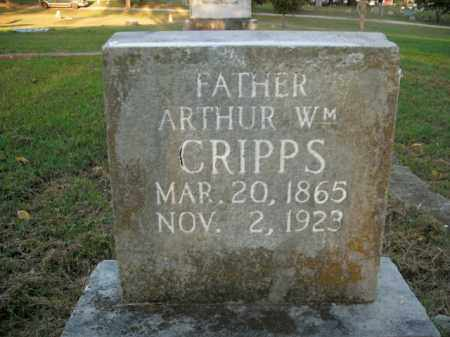 CRIPPS, ARTHUR WILLIAM - Boone County, Arkansas | ARTHUR WILLIAM CRIPPS - Arkansas Gravestone Photos