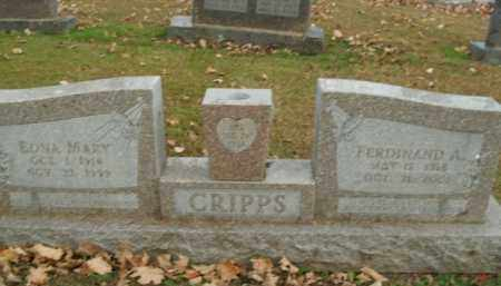 CRIPPS, EDNA MARY - Boone County, Arkansas | EDNA MARY CRIPPS - Arkansas Gravestone Photos