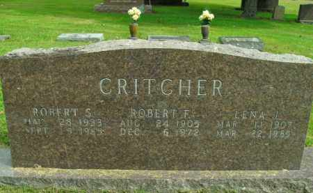 CRITCHER, LENA J. - Boone County, Arkansas | LENA J. CRITCHER - Arkansas Gravestone Photos