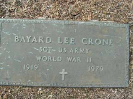 CRONE  (VETERAN WWII), BAYARD LEE - Boone County, Arkansas | BAYARD LEE CRONE  (VETERAN WWII) - Arkansas Gravestone Photos