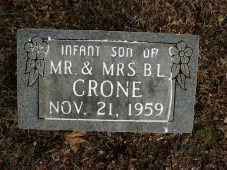 CRONE, INFANT SON - Boone County, Arkansas | INFANT SON CRONE - Arkansas Gravestone Photos
