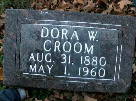 CROOM, DORA W. - Boone County, Arkansas | DORA W. CROOM - Arkansas Gravestone Photos