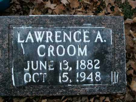 CROOM, LAWRENCE A. - Boone County, Arkansas | LAWRENCE A. CROOM - Arkansas Gravestone Photos