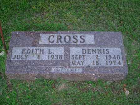 CROSS, DENNIS - Boone County, Arkansas | DENNIS CROSS - Arkansas Gravestone Photos