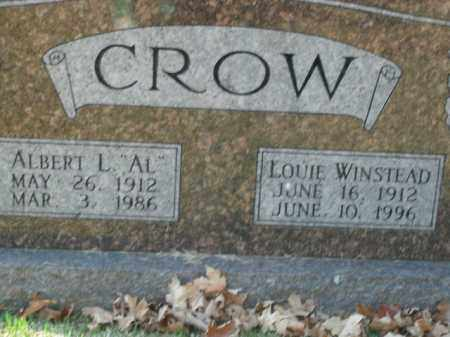 CROW, LOUIE WINSTEAD - Boone County, Arkansas | LOUIE WINSTEAD CROW - Arkansas Gravestone Photos
