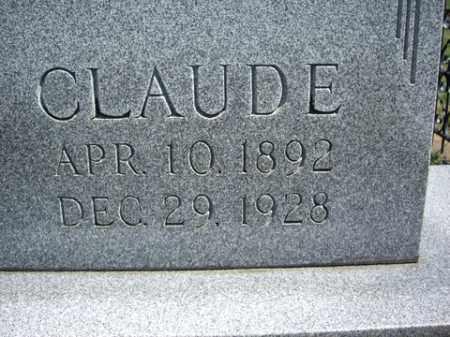 CROW, CLAUDE - Boone County, Arkansas | CLAUDE CROW - Arkansas Gravestone Photos