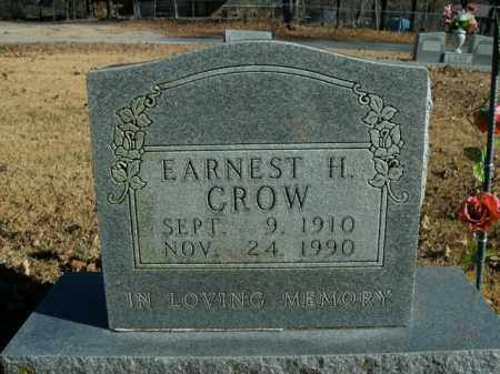 CROW, ERNEST H. - Boone County, Arkansas | ERNEST H. CROW - Arkansas Gravestone Photos