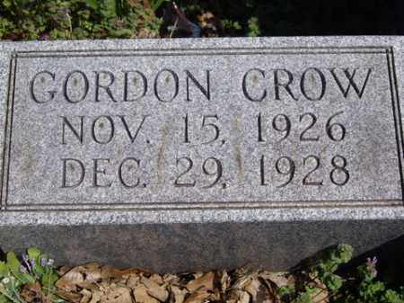 CROW, GORDON - Boone County, Arkansas | GORDON CROW - Arkansas Gravestone Photos