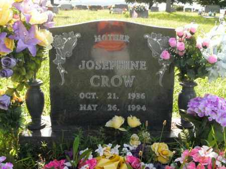 CROW, JOSEPHINE - Boone County, Arkansas | JOSEPHINE CROW - Arkansas Gravestone Photos