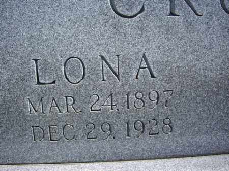 CROW, LONA - Boone County, Arkansas | LONA CROW - Arkansas Gravestone Photos