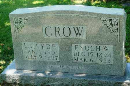 CROW, ENOCH W - Boone County, Arkansas | ENOCH W CROW - Arkansas Gravestone Photos
